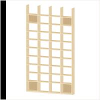 台活用、隙間スペースを活用するロー ボード。木製 素材のナチュラルなカラーで、お部屋の収納力アップ。