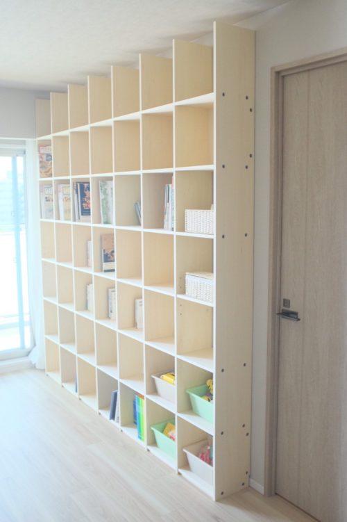 収納がたくさんできる壁面収納