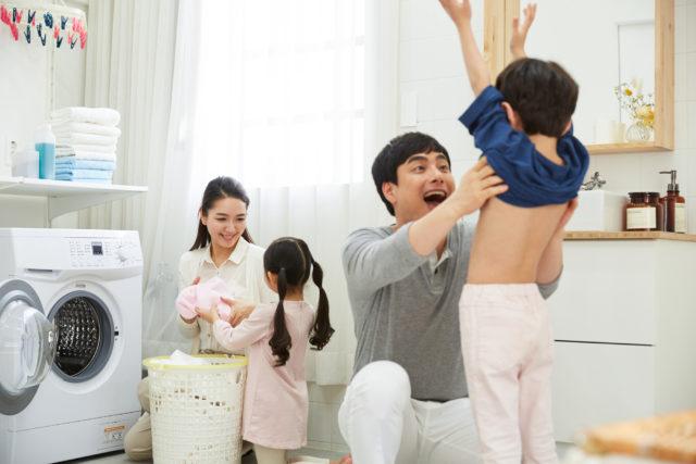【家族構成別】洗面所の整理に最適な壁面収納OSAMARUはコレ!