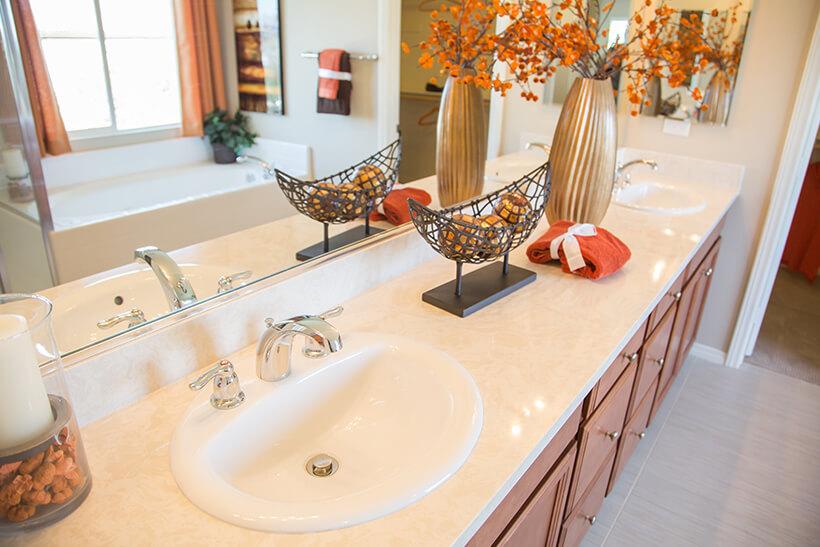 洗面台をDIYでお手頃にリフォーム事例