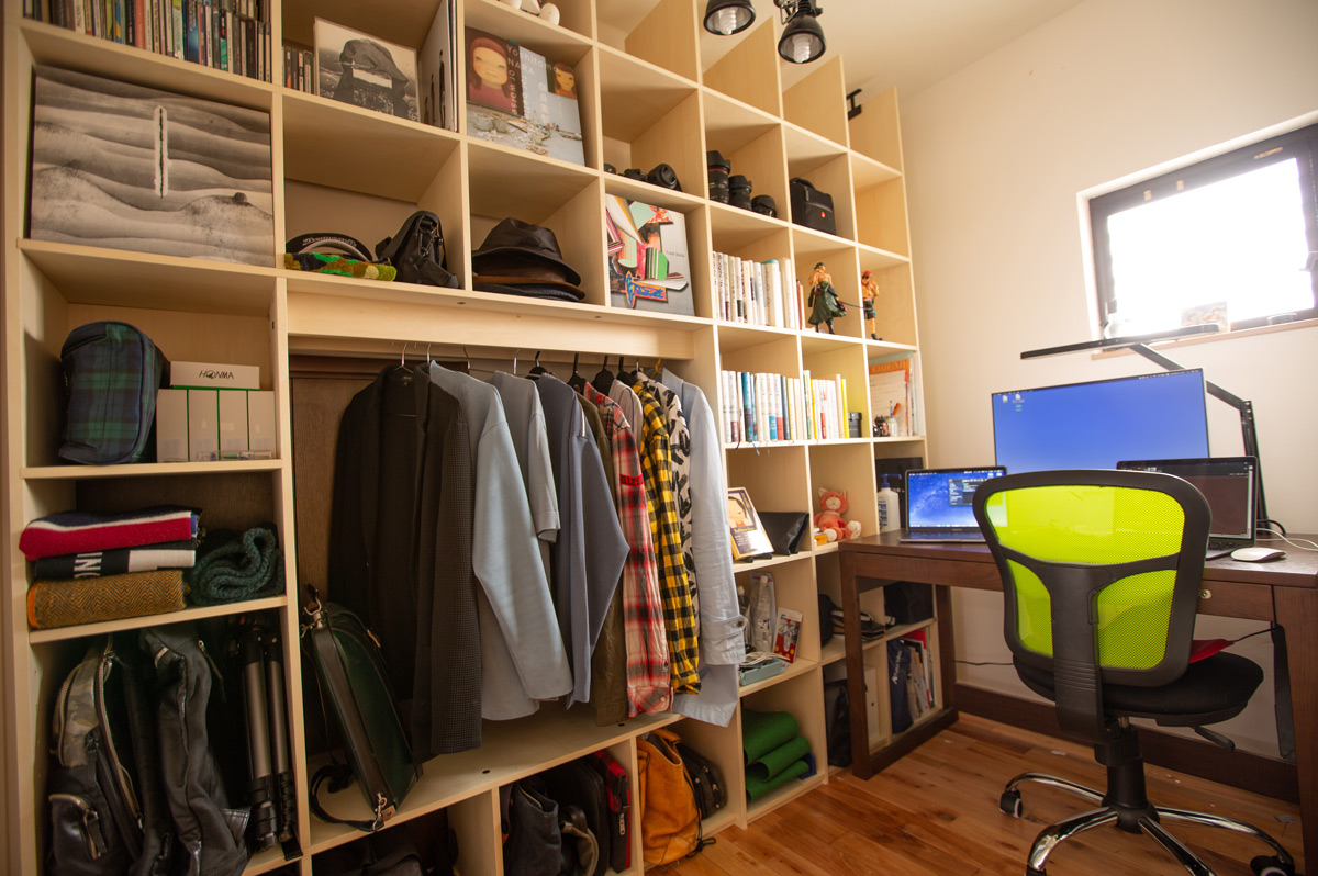 家と事務所で継ぎ目のない仕事環境をつくりたい