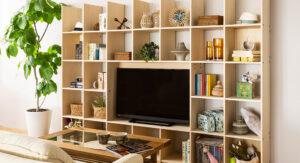 リビングを壁面収納で家族の「好き」が集まる空間に