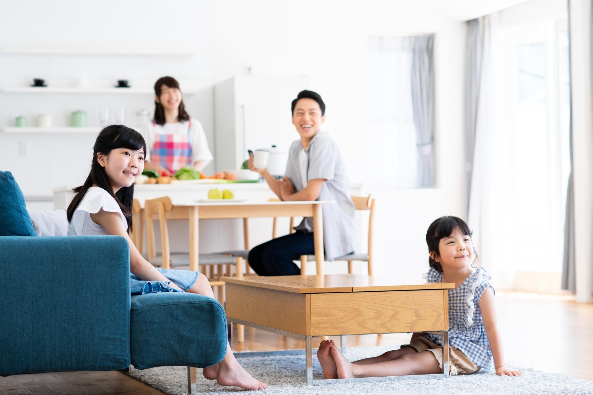 「ハイタイプ」は家族集まるリビングにおすすめ