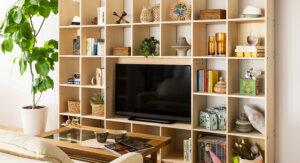 インテリアアイテム壁面収納のススメ!テレビ周りもおしゃれに!