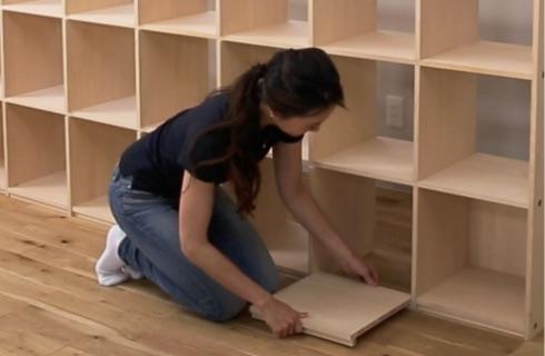 壁面収納の本棚を自分でDIYする方法!