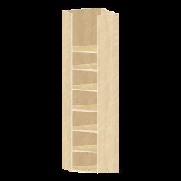 コーナー収納で壁面収納を拡張できる!