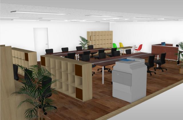 目的別に選ぶオフィスの壁面収納