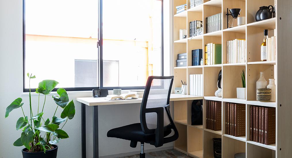 壁面収納をつかって理想の書斎を手に入れよう